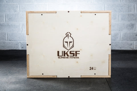 Wooden Plyo Box (By UKSF)