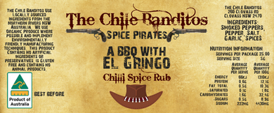 A BBQ With El Gringo Spice Rub