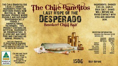 Last Hope Of The Desperado Smoked Chilli Salt