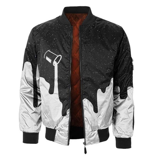 Colors Of Universe Bomber Jacket