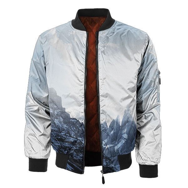 Snow Ridge Bomber Jacket