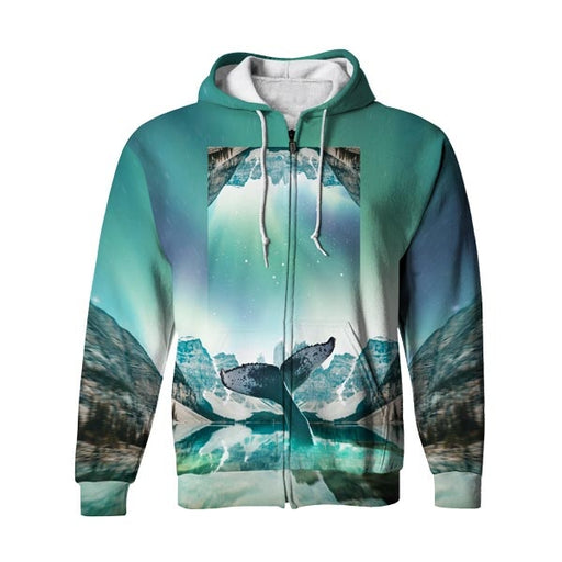Lakeside Zip Up Hoodie