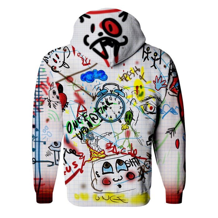 Wall Art Zip Up Hoodie