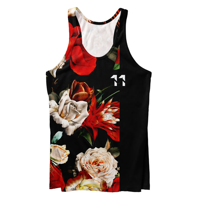 Antique Flowers Tank Top