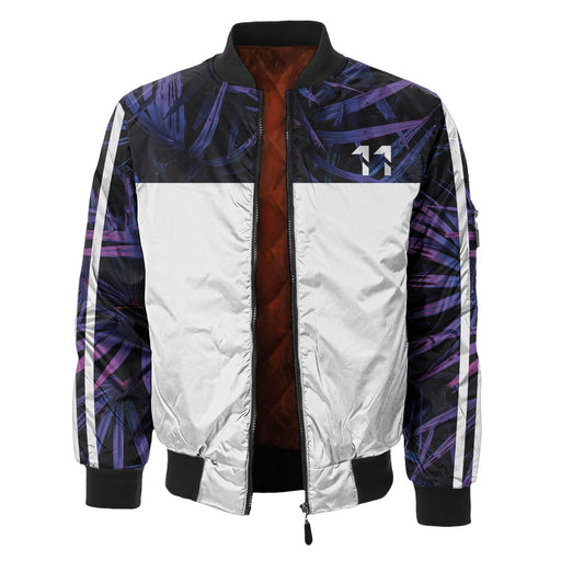 Royal Purple Bomber Jacket