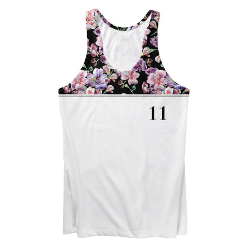 Midnight Pink Blossom Tank Top