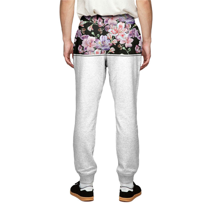 Midnight Pink Blossom Sweatpants