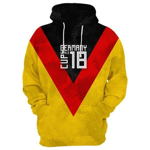 GERMANY World Cup Hoodie Style 4