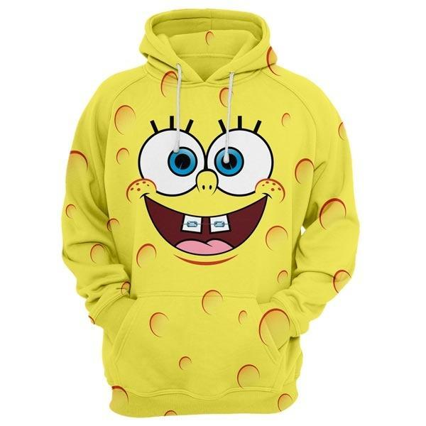 Yellow Smile Hoodie