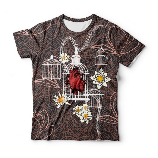 Blocked Heart T-Shirt