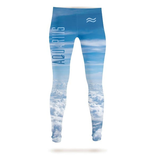Aquarius In The Sky Leggings