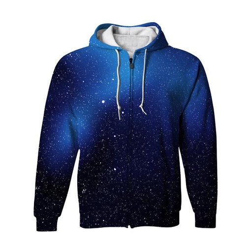 Stars Are Cool Zip Up Hoodie