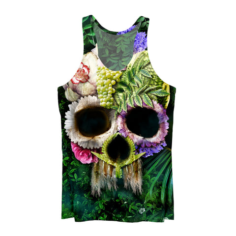 Herbal Skull Bright Tank Top