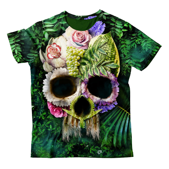 Herbal Skull Bright T-Shirt