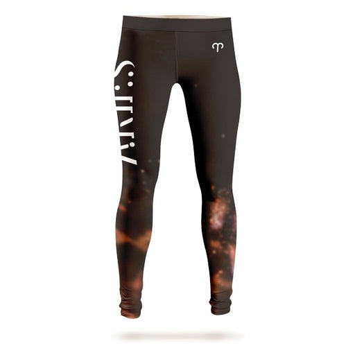 Aries In The Fire Leggings