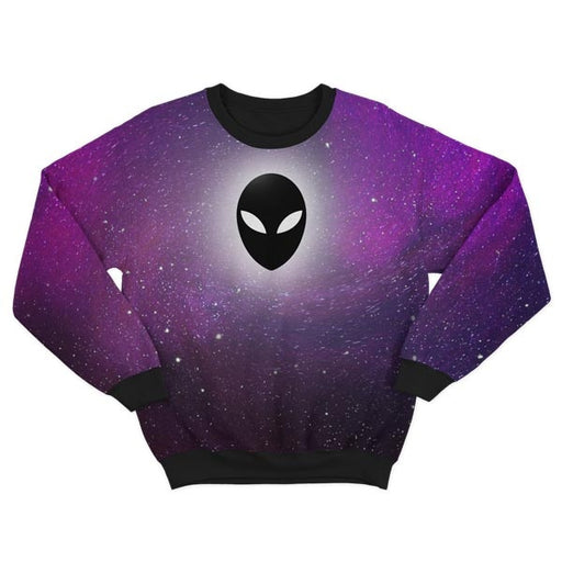 Purple UFO Sweatshirt