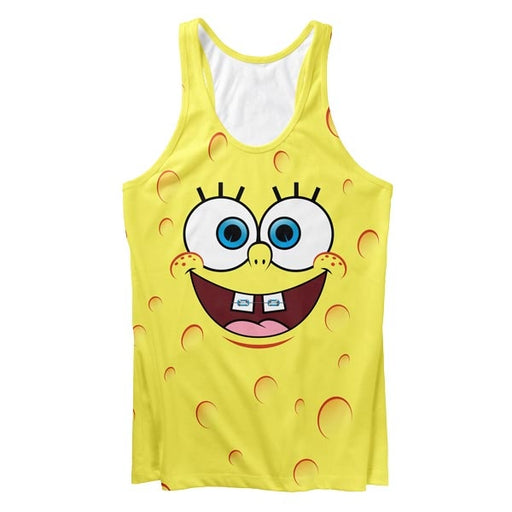 Yellow Smile Tank Top