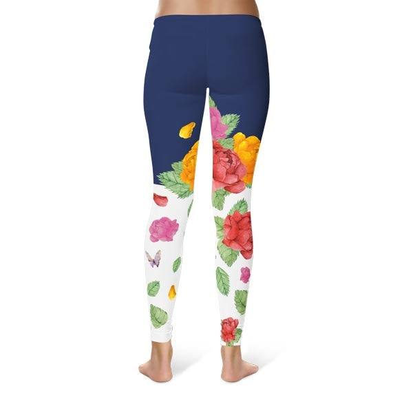 Roses Bloom Leggings