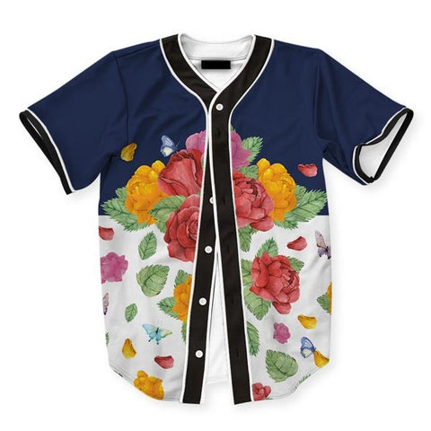 Roses Bloom Jersey