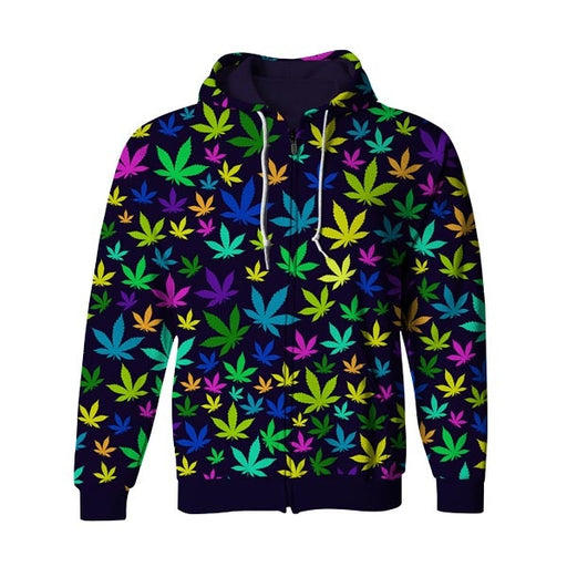 Colorful Dreams Zip Up Hoodie