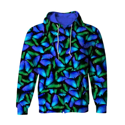 Butterfly Effects Zip Up Hoodie