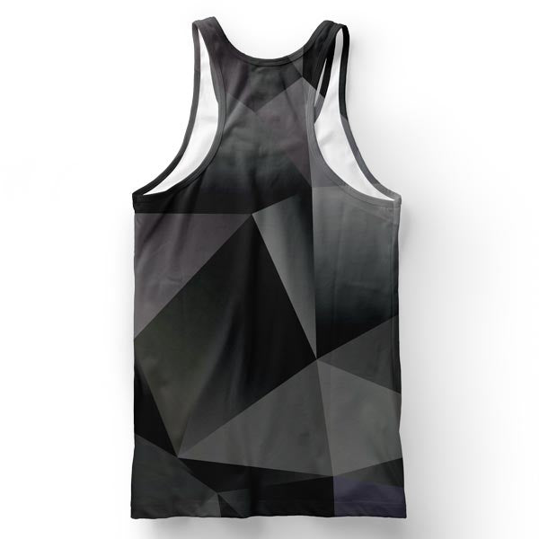 Low Poly Hippo Tank Top
