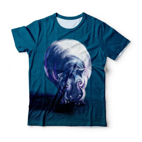 Moonlight Hippo T-Shirt