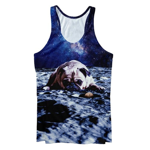 Sad Dog Tank Top
