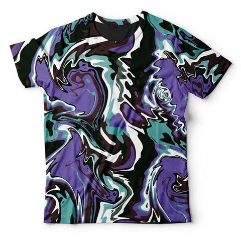 Abstract Green Liquid T-Shirt