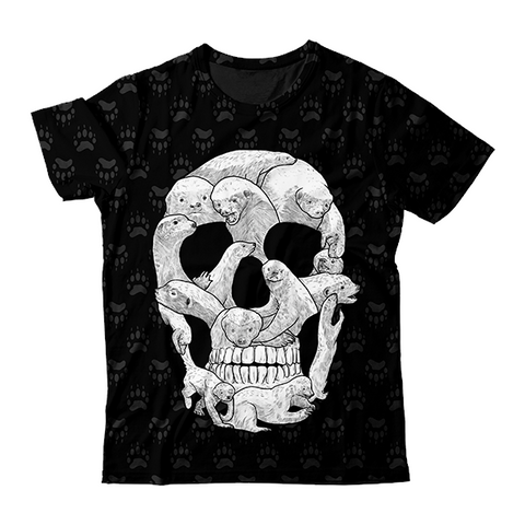 Honey Badger Skull T-Shirt