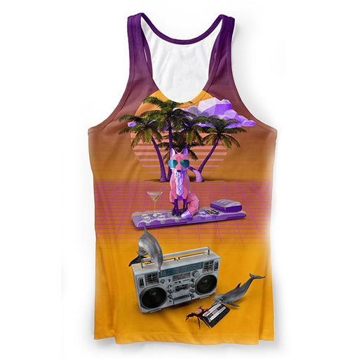Vapor Fox Tank Top