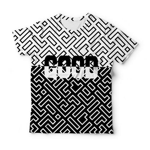 Gridded T-Shirt