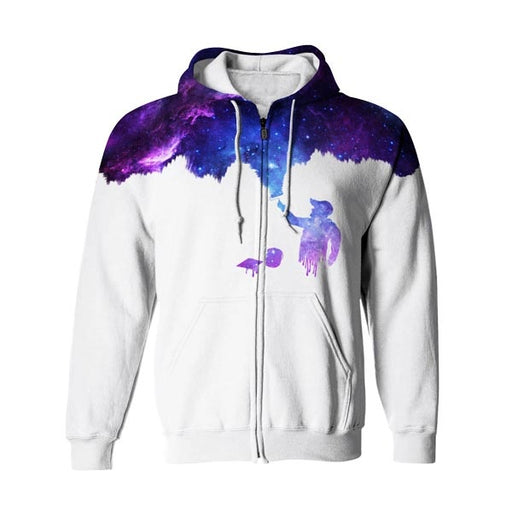 The Painter Zip Up Hoodie