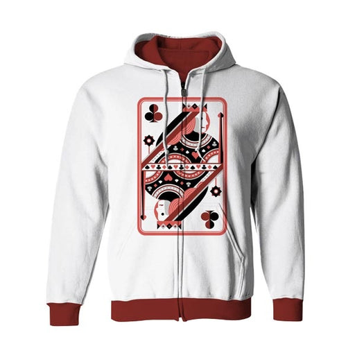 Queen Style 1 Zip Up Hoodie