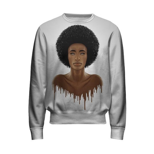 Afro Girl Sweatshirt