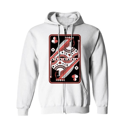 Queen Style 3 Zip Up Hoodie