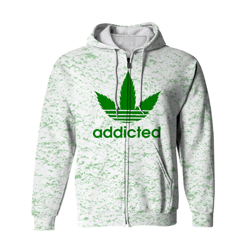 Addicted Zip Up Hoodie