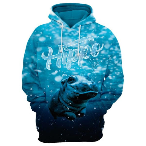 Baby Hippo Hoodie