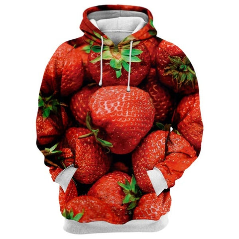 Yummy Strawberry Hoodie