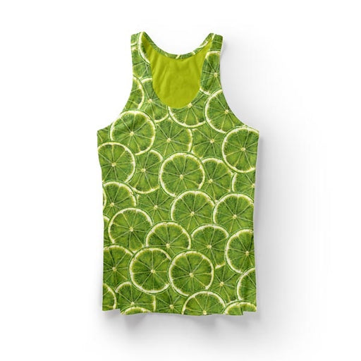 Lime Fruit Tank Top