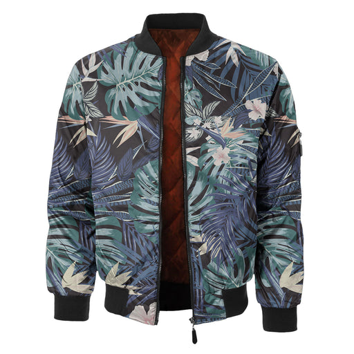 Dark Rosemallows Bomber Jacket