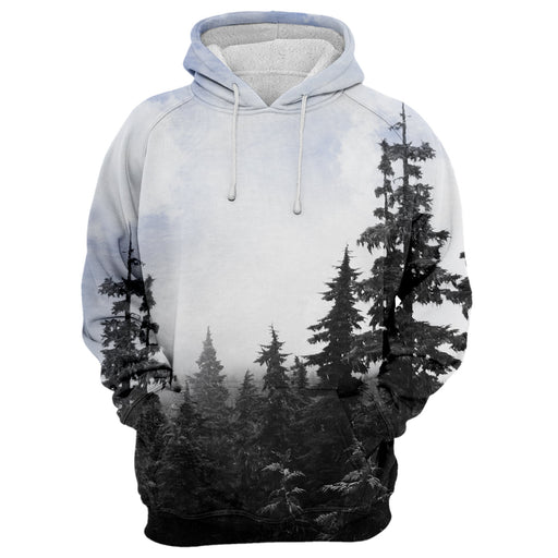 Gray Forest Hoodie