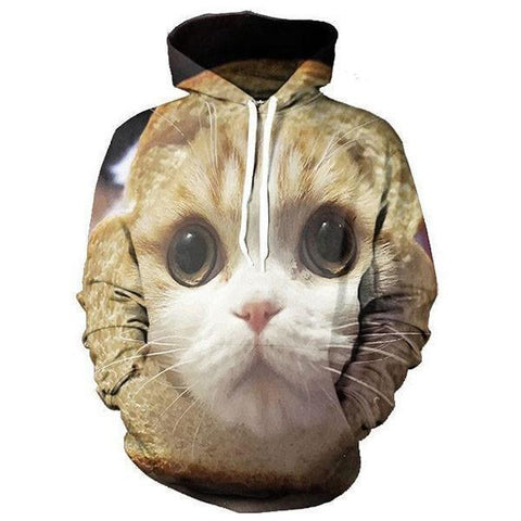 The Scared Cat Hoodie