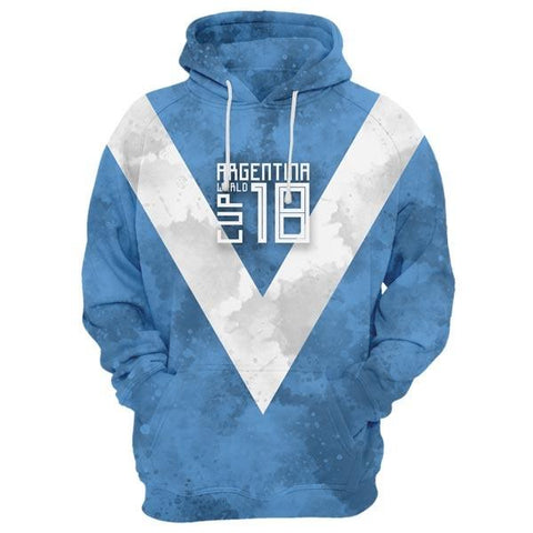 ARGENTINA World Cup Hoodie Style 3