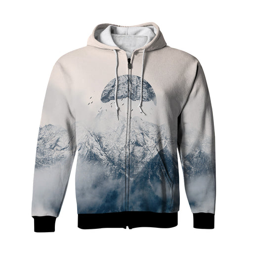 Roaming Zip Up Hoodie