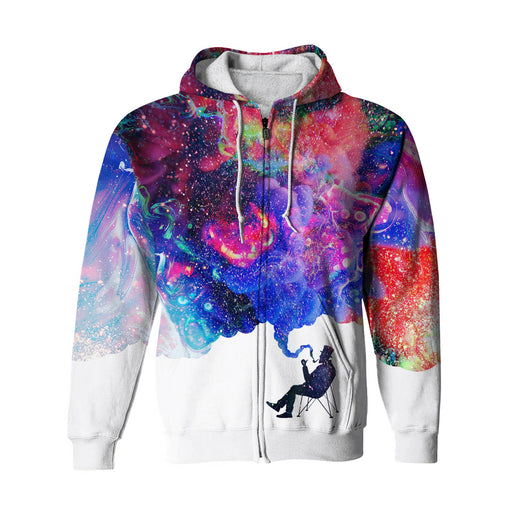 Smokey Dreams Zip Up Hoodie