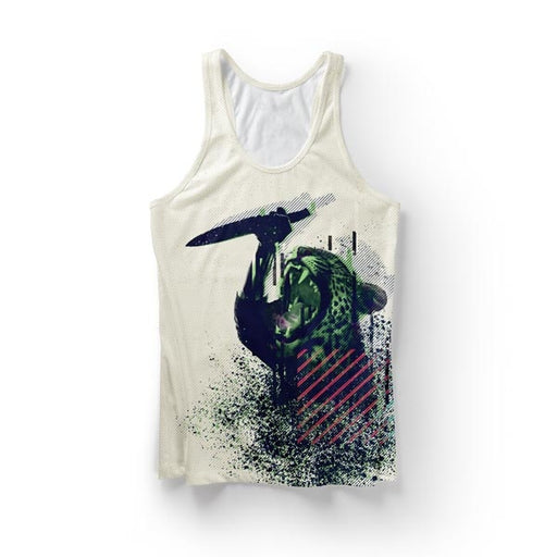 Knife Cat Tank Top