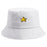 Embroidered Star Bucket Hat