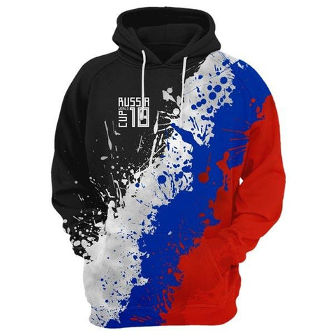 RUSSIA World Cup Hoodie Style 2