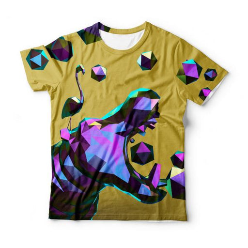 Hippo Polygons T-Shirt